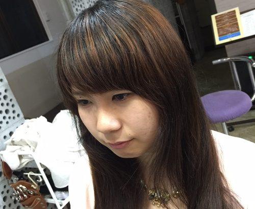 前髪のカァァァァット!!!!
