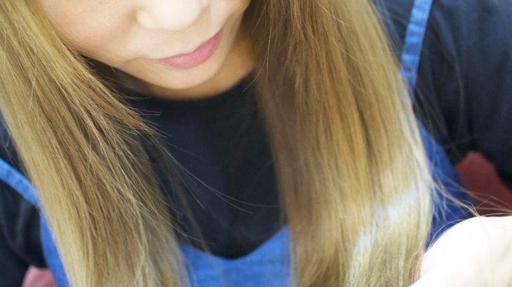 カラーリングで艶髪メイキング!